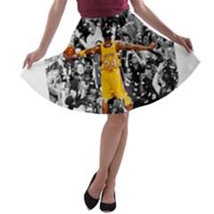 Image A Line Skater Skirt