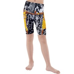 Image Kid s Mid Length Swim Shorts
