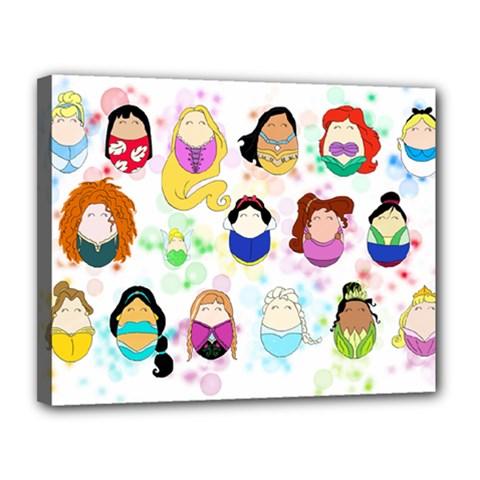 Disney Ladies Canvas 14  X 11