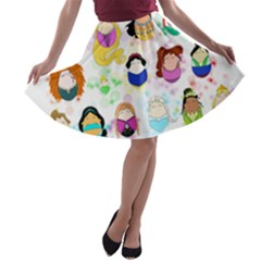 Disney Ladies A-line Skater Skirt