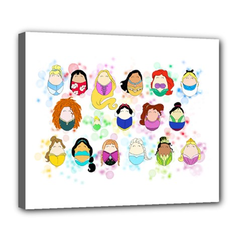 Disney Ladies Deluxe Canvas 24  x 20