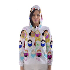 Disney Ladies Hooded Wind Breaker (Women)