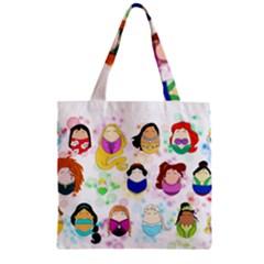 Disney Ladies Zipper Grocery Tote Bags