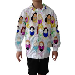 Disney Ladies Hooded Wind Breaker (kids)