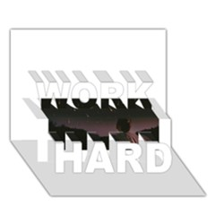 The Fallen Work Hard 3d Greeting Card (7x5)