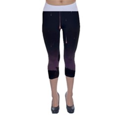 The Fallen Capri Winter Leggings