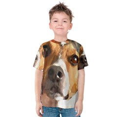 Jack Russell Terrier Kid s Cotton Tee