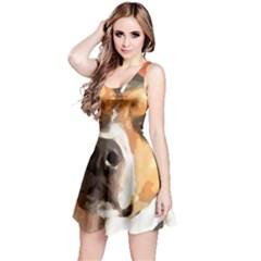 Jack Russell Terrier Reversible Sleeveless Dresses