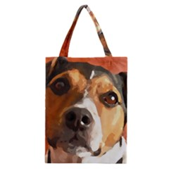 Jack Russell Terrier Classic Tote Bags