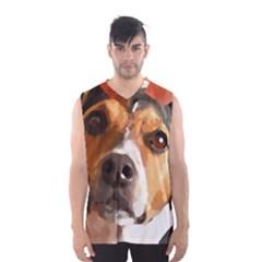 Jack Russell Terrier Men s Basketball Tank Top