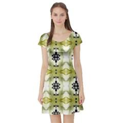 Lit0511029015 Short Sleeve Skater Dresses