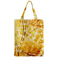 Light Speed Zipper Classic Tote Bags