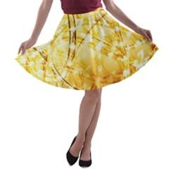 Light Speed A-line Skater Skirt