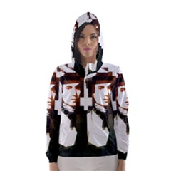 Digital Native Hooded Wind Breaker (women)