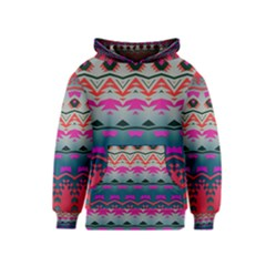 Waves and other shapes Kid s Pullover Hoodie