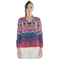 Waves and other shapes Wind Breaker (Women)