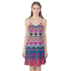 Waves and other shapes Camis Nightgown