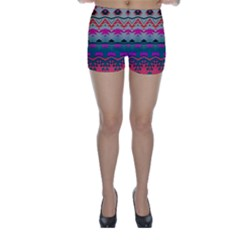 Waves And Other Shapes Skinny Shorts