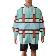 Vertical and horizontal rectangles Wind Breaker (Kids)