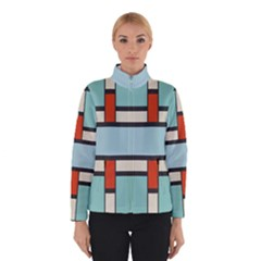 Vertical and horizontal rectangles Winter Jacket