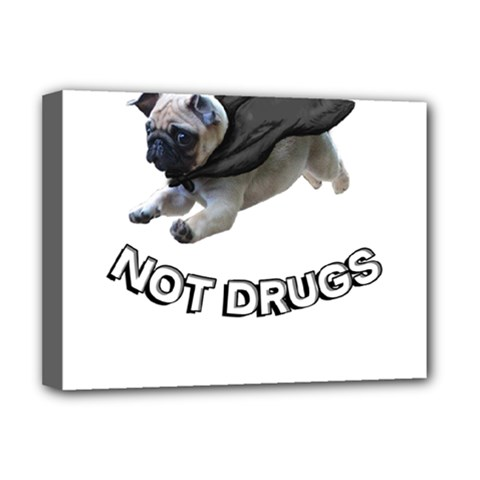 Do Pugs Deluxe Canvas 16  x 12