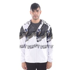 Do Pugs Hooded Wind Breaker (Men)