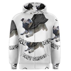Do Pugs Men s Zipper Hoodies