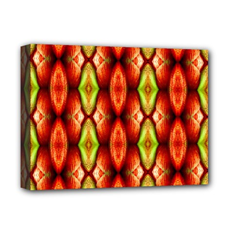 Melons Pattern Abstract Deluxe Canvas 16  x 12