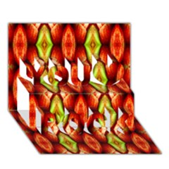 Melons Pattern Abstract You Rock 3d Greeting Card (7x5)