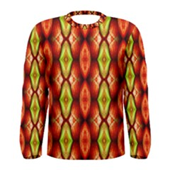 Melons Pattern Abstract Men s Long Sleeve T-shirts