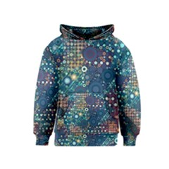 Blue Bubbles Kid s Pullover Hoodies