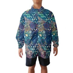 Blue Bubbles Wind Breaker (Kids)