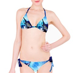 Awersome Marlin In A Fantasy Underwater World Bikini Set