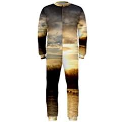 SETTING SUN AT LAKE OnePiece Jumpsuit (Men)