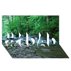 ROCKY STREAM #1 DAD 3D Greeting Card (8x4)