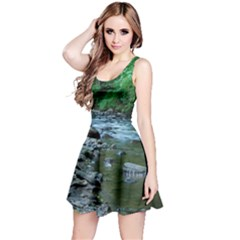 ROCKY STREAM Reversible Sleeveless Dresses