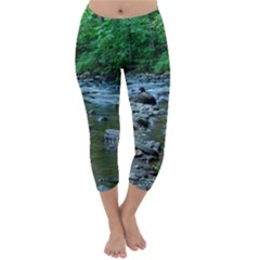 Rocky Stream Capri Winter Leggings