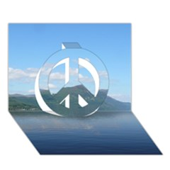 LOCH NESS Peace Sign 3D Greeting Card (7x5)