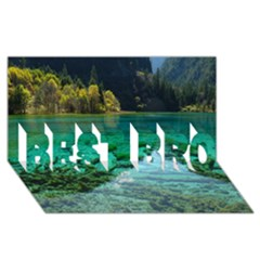 JIUZHAIGOU VALLEY 2 BEST BRO 3D Greeting Card (8x4)