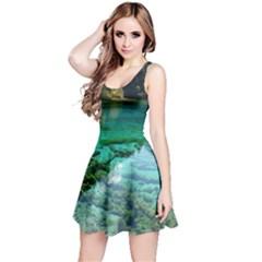 Jiuzhaigou Valley 2 Reversible Sleeveless Dresses
