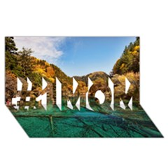 JIUZHAIGOU VALLEY 1 #1 MOM 3D Greeting Cards (8x4)