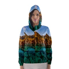 JIUZHAIGOU VALLEY 1 Hooded Wind Breaker (Women)