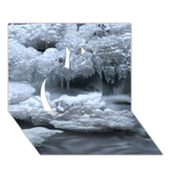ICE AND WATER Apple 3D Greeting Card (7x5)