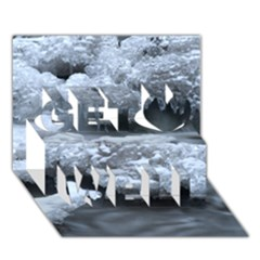 Ice And Water Get Well 3d Greeting Card (7x5)