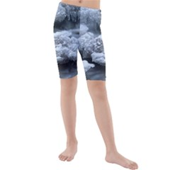 ICE AND WATER Kid s Mid Length Swim Shorts
