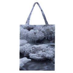 ICE AND WATER Classic Tote Bags