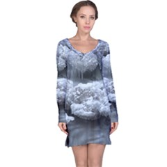 ICE AND WATER Long Sleeve Nightdresses