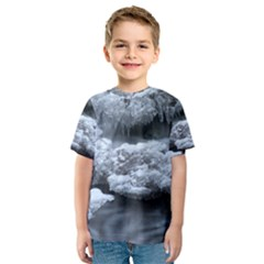 Ice And Water Kid s Sport Mesh Tees