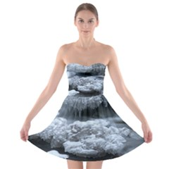 Ice And Water Strapless Bra Top Dress