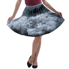 Ice And Water A Line Skater Skirt